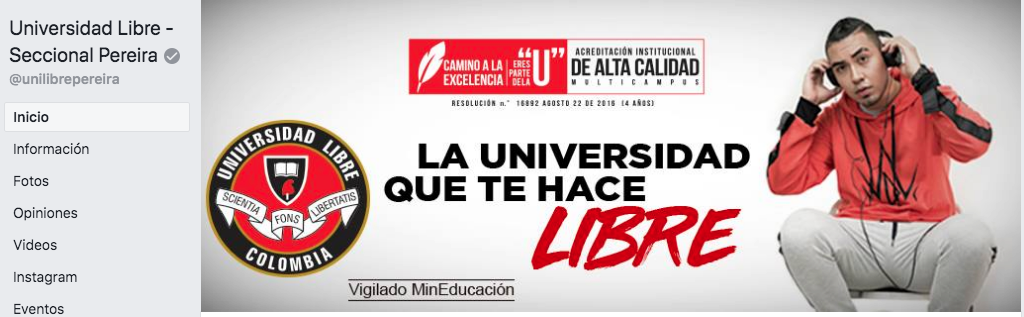 Fan Page Universidad Libre Pereira