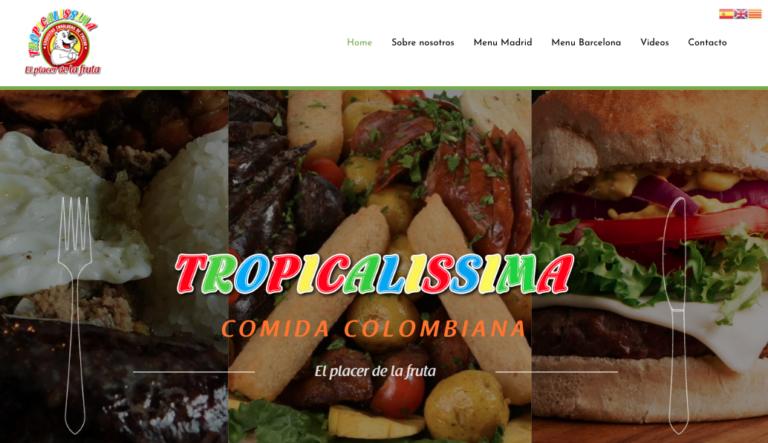 Tropicalissima - Restaurante Colombiano